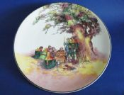 Royal Doulton Under the Greenwood Tree (Robin Hood) Series 'Friar Tuck Makes Merry' Charger c1950